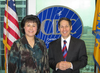 IHS Director with CDC Director