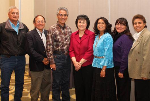 Members of Navajo Nation TDM