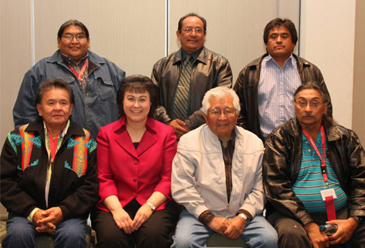 Members of White Mountain Apache Tribe TDM