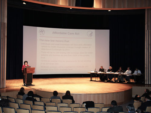 Affordable Care Act and the Indian Health Care Improvement Act listening session (photo 1)