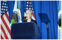 Thumbnail - clicking will open full size image - HHS Secretary Sebelius