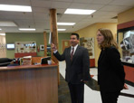 Thumbnail - clicking will open full size image - HHS Secretary Burwell visit with Port Gamble S'Klallam Tribe and Portland Area tribal leaders, August 2014