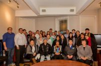 Thumbnail - clicking will open full size image - Standing Rock Sioux Youth visit Washington, D.C., November 2014