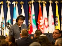 Thumbnail - clicking will open full size image - 2014 White House Tribal Nations Conference