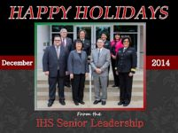 Thumbnail - clicking will open full size image - Happy Holidays and Happy New Year from the IHS Senior Staff