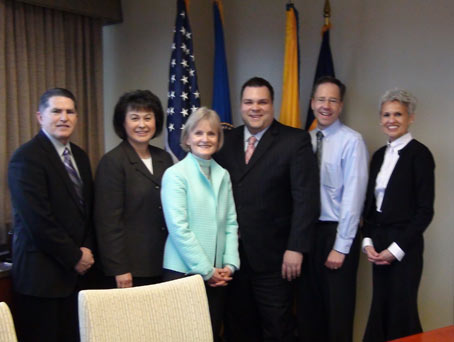 Dr. Roubideaux meets with HRSA and NCUIH