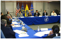 Thumbnail - clicking will open full size image - Dr. Roubideaux attends HHS Secretary's Tribal Advisory Committee