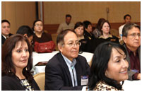Thumbnail - clicking will open full size image - Attendees at the IHS National Combined Councils Meeting