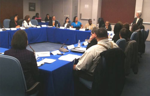 Secretary Sebelius speaks at Tribal Advisory Committee meeting