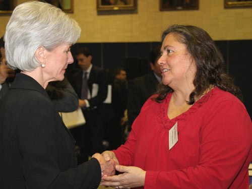 Secretary Sebelius at the HHS Tribal Budget Formulation and Consultation Session