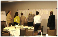 Thumbnail - clicking will open full size image - Attendees provide feedback on a timeline for IPC change concepts
