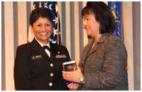 Thumbnail - clicking will open full size image - Dr. Roubideaux and CAPT Carol Lincoln