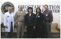 Thumbnail - clicking will open full size image - Choctaw Nation Medical Center Talihina