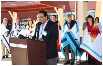 Thumbnail - clicking will open full size image - Cheyenne River ARRA Facility Dedication Ceremony