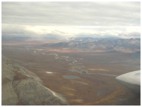 Thumbnail - clicking will open full size image - view from plane flying to Anaktuvuk Pass