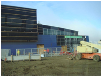 Thumbnail - clicking will open full size image - Construction site for New Barrow Hospital