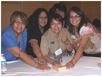 Thumbnail - clicking will open full size image - Nurse Leaders in Native Care Conference