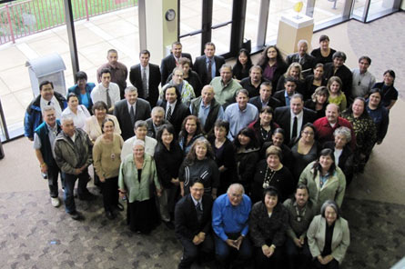 Attendees of the Director's Tribal Listening Session in Anchorage, AK