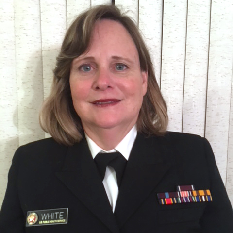 Cmdr. Colleen White, RDH, MPH, Senior Dental Hygienist at Gallup Indian Medical Center