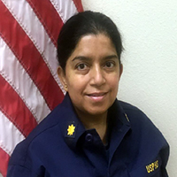 Lt. Cmdr. Nivedita Das, PharmD, M.S., interim pharmacy director, Chinle Hospital