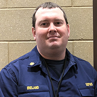 Lt. Cmdr. Matthew Ireland, Facility Manager, Cass Lake IHS