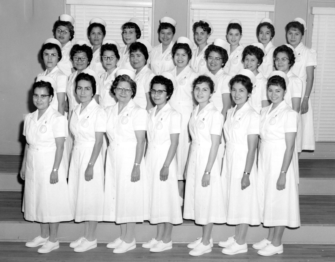 35th graduating class of the Indian School of Practical Nursing, Albuquerque, New Mexico