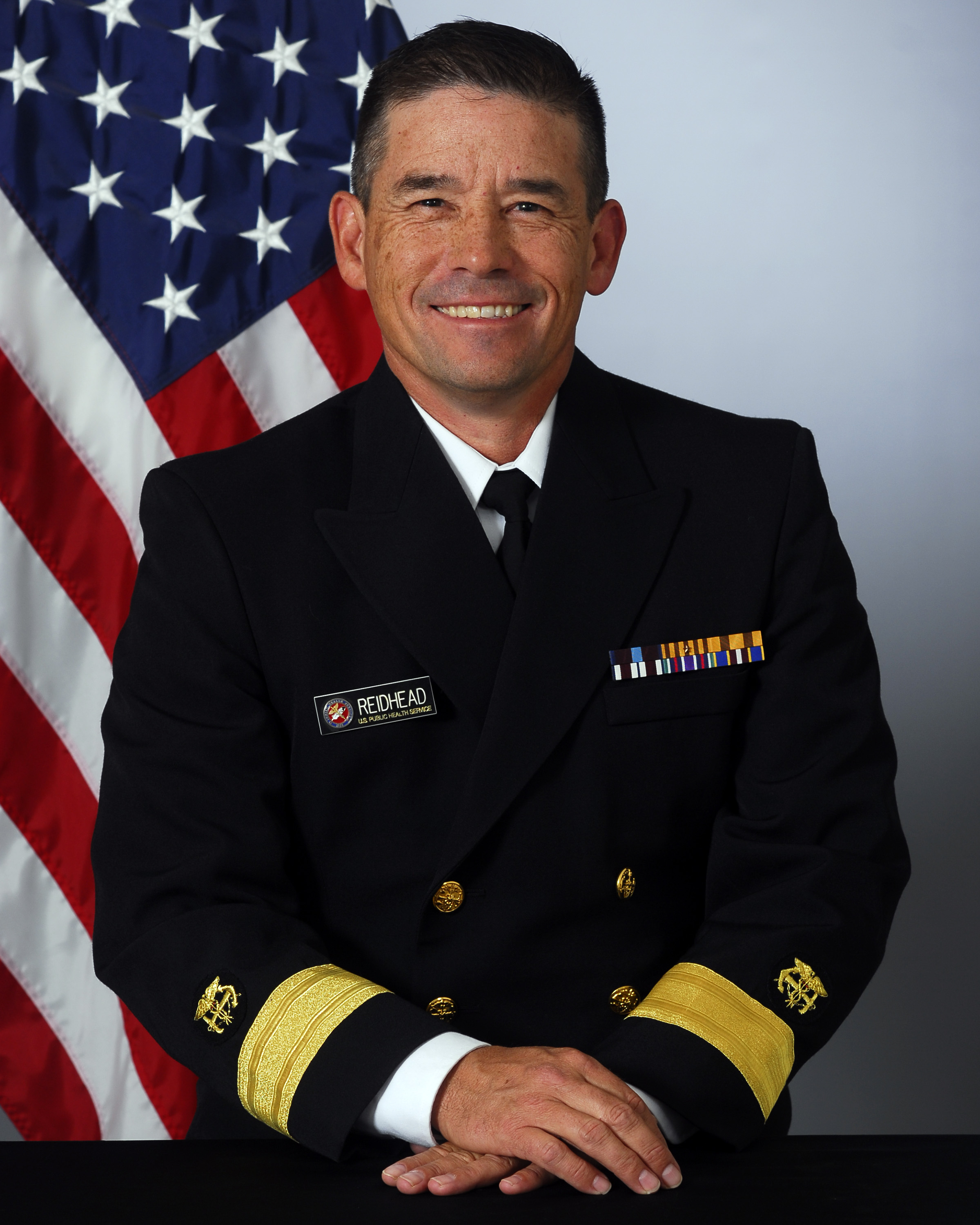 Rear Adm. Charles Ty Reidhead, Area Director of the Phoenix Area Indian Health Service