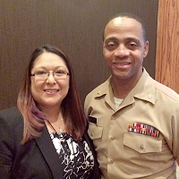 Audrey Solimon, MPH, Health System Specialist and LCDR Sean K. Bennett, LCSW, USPHS, Public Health Advisor