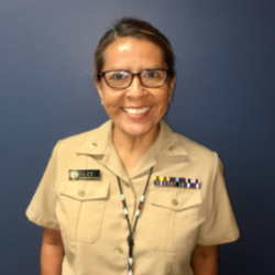 Lt. Cmdr. Lori Lee, DPT, Lead Physical Therapist, Clinton Service Unit, Oklahoma City Area IHS