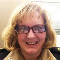 CAPT Suzanne England, Maternal Child Health Consultant, Great Plains Area, Indian Health Service