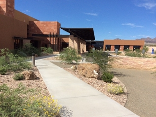 The new San Carlos Apache Tribe Health Center is located in Peridot, Arizona.