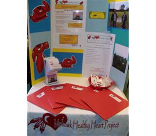 Mohawk Healthy Heart Project Booth